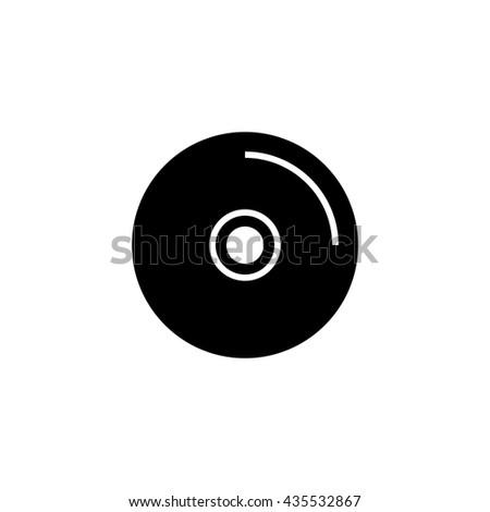 disc icon. disc sign - stock vector