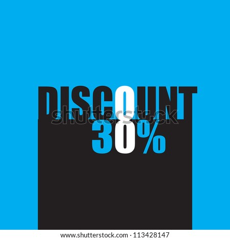 Discount - stock vector