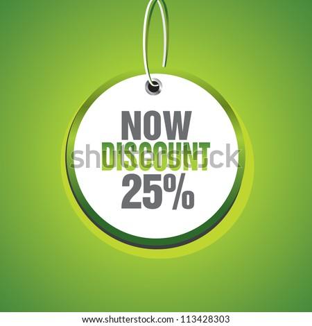 Discount - stock vector