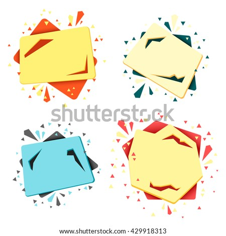 Discount frame price tag. Discount Black Friday. Clearance Sale. Discount coupon. Sale discount - stock vector
