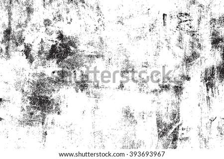 Distress Overlay Texture - stock vector