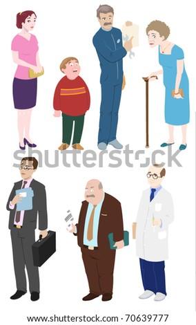 Diversity of People-vector - stock vector