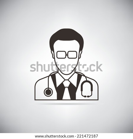 doctor  - stock vector