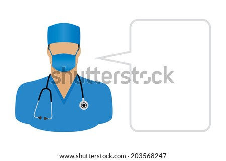 Doctor - Avatars and User Icons - stock vector