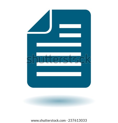 Document Icon graphic. Document Icon JPEG. Document Icon EPS. Document Icon sign. Document Icon simbol. Document Icon drawing. Document Icon vector. Document Icon image. Document Icon JPG.  - stock vector