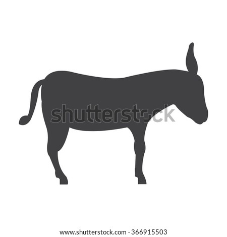Donkey icon. Donkey icon vector. Donkey icon simple. Donkey icon app. Donkey icon web. Donkey icon logo. Donkey icon sign. Donkey icon ui. Donkey icon flat. Donkey icon eps. Donkey icon art. Donkey. - stock vector