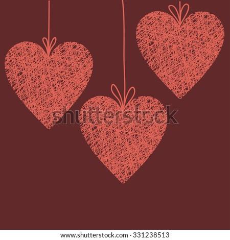 Rustic Heart Stock Vectors & Vector Clip Art   Shutterstock