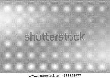 Dotted metal texture. Eps10 vector abstract background - stock vector