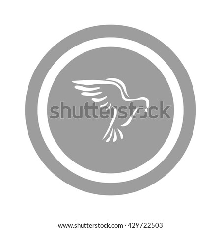 Dove icon Vector.  - stock vector