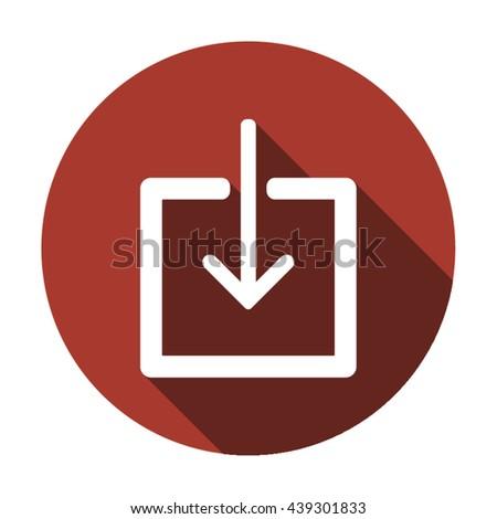 Download icon vector, download icon eps10, download icon picture, download icon flat, download icon, download web icon, download icon art, download icon drawing, download icon, download icon jpg - stock vector
