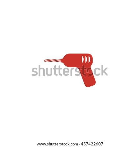 Drill icon - stock vector