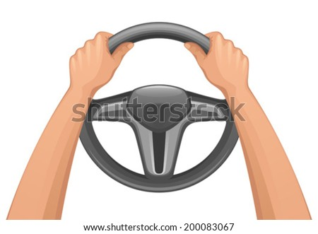 Driver - stock vector