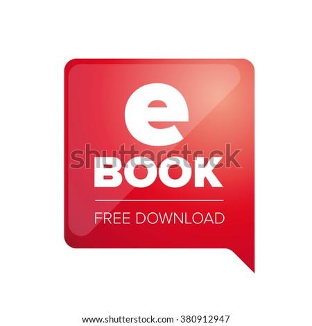 E -book. Electronic Library icon - stock vector