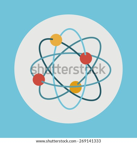 e-learning design over blue background, vector illustration - stock vector