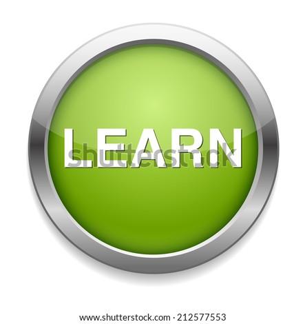 e-learning icon - stock vector