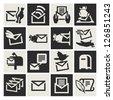 E-mail icon - stock vector