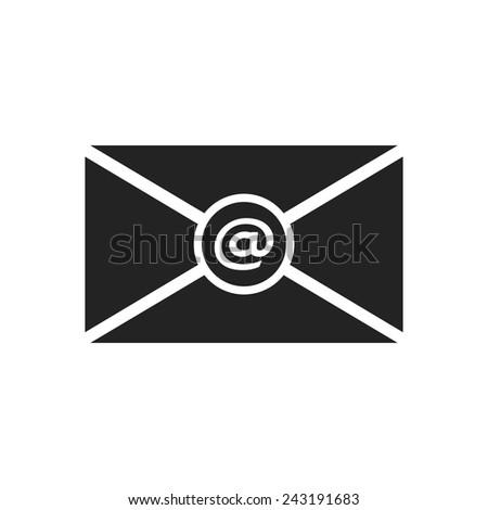 E mail icon. Vector illustration  - stock vector