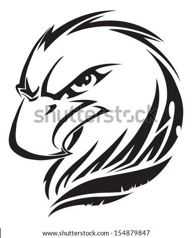 Eagle head tattoo design   Eagle Head Tattoo Designs