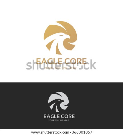 Eagle Logo,Vector Logo Template - stock vector