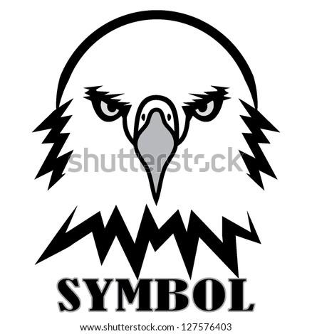 Eagles Logo Outline Eagle Outline Black White