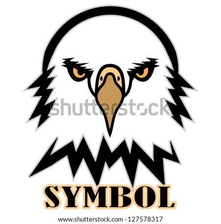 Eagles Logo Outline Eagle Symbol Outline Vector