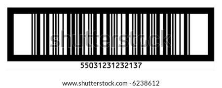 EAN 14  barcode - stock vector
