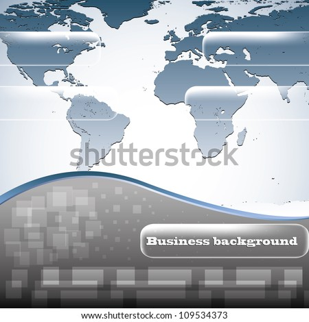 Earth abstract business background - stock vector