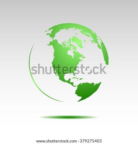 Earth Day vector illustration - stock vector