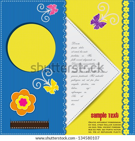 easy to edit vector illustration of colorful banner set - stock vector
