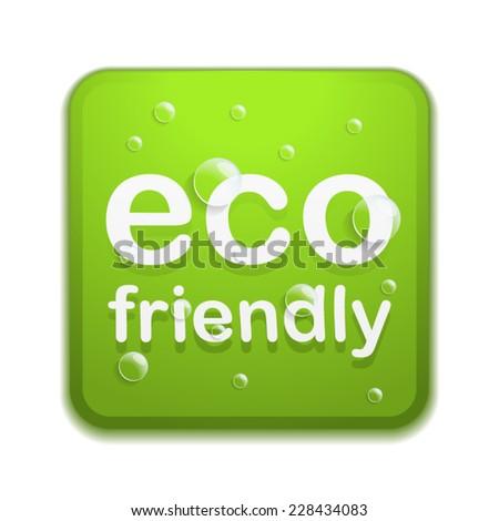 Eco friendly - stock vector