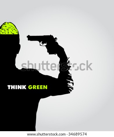 ecology poster #3 - stock vector