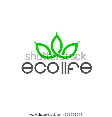 Ecology symbol - stock vector