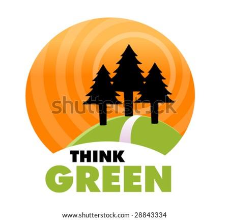 ecology symbol 2 - stock vector