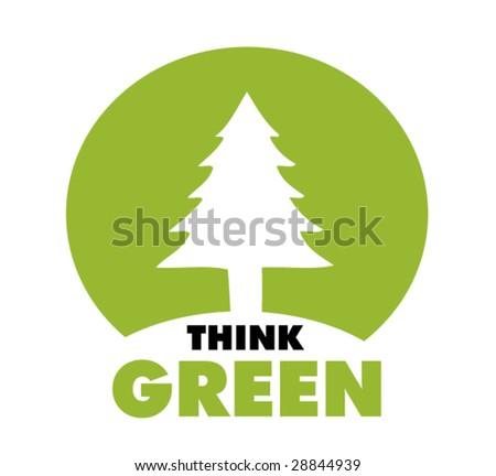 ecology symbol 3 - stock vector