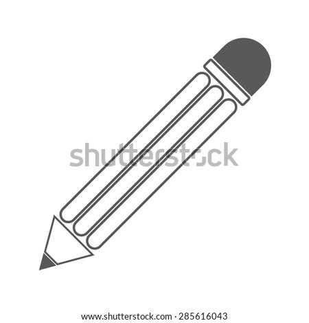 Edit icon  pencil - stock vector