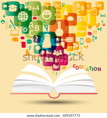 Education concept vector Illustration - stock vector