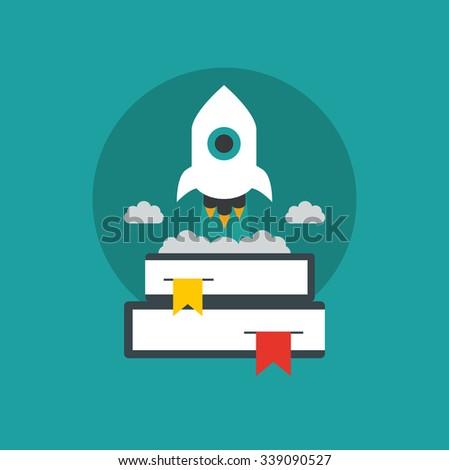 Education,graduation exam icon - stock vector