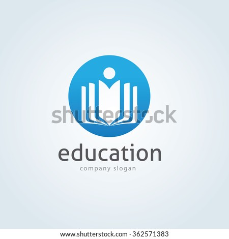 Education Logo,Learning logo,People logo,vector logo template - stock vector