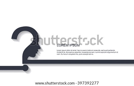 Effective thinking background - stock vector