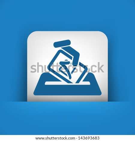 Election concept icon - stock vector
