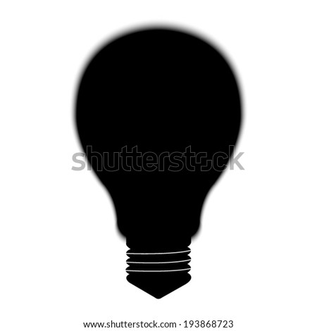 Electric lamp icon - stock vector