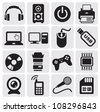 Electrical Icons set - stock vector