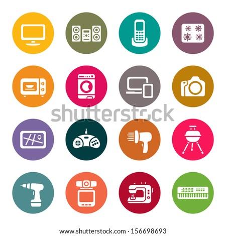 Electronics store - stock vector