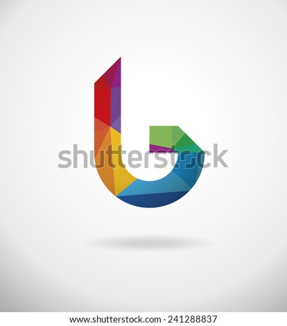 Elegant minimal style corporate identity symbol template. Vector illustration. - stock vector
