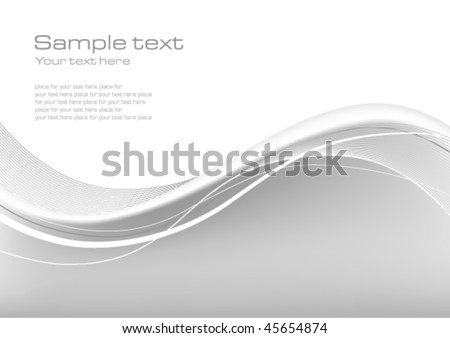 Elegant Silver Technology Background - stock vector