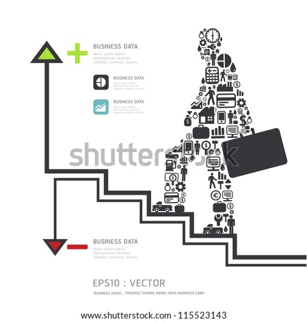 Elements are small icons Finance make in businessman concept .Vector illustration. - stock vector