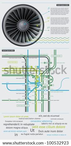Elements of Infographics - stock vector
