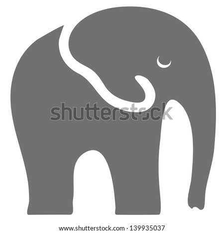 Elephant - stock vector