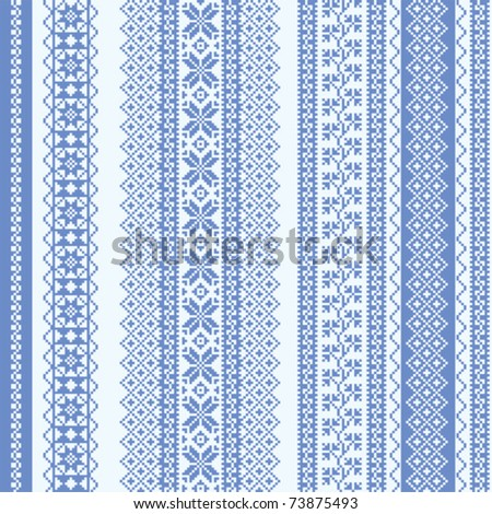 Nordic Pattern Stock Photos, Illustrations, and Vector Art