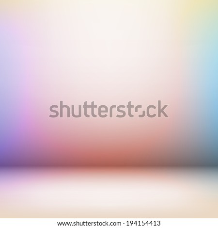 Empty light interior for your creative project. EPS 10 vector illustration. Used transparency layers for shadows - stock vector